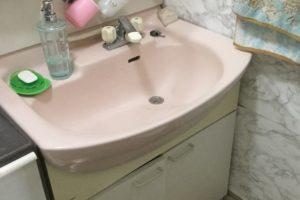 施工前 洗面所