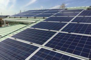 千葉県我孫子市の屋根型太陽光発電所